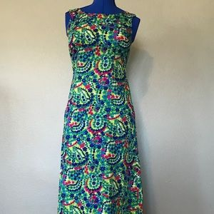 Vibrant VINTAGE Dress